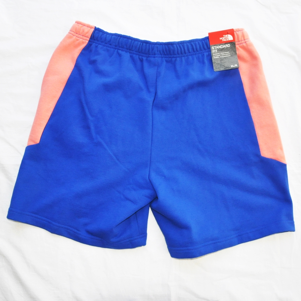 THE NORTH FACE/ザノースフェイス EXTREME BLOCK SHORTS PINK/BLUE BIG SIZE-2