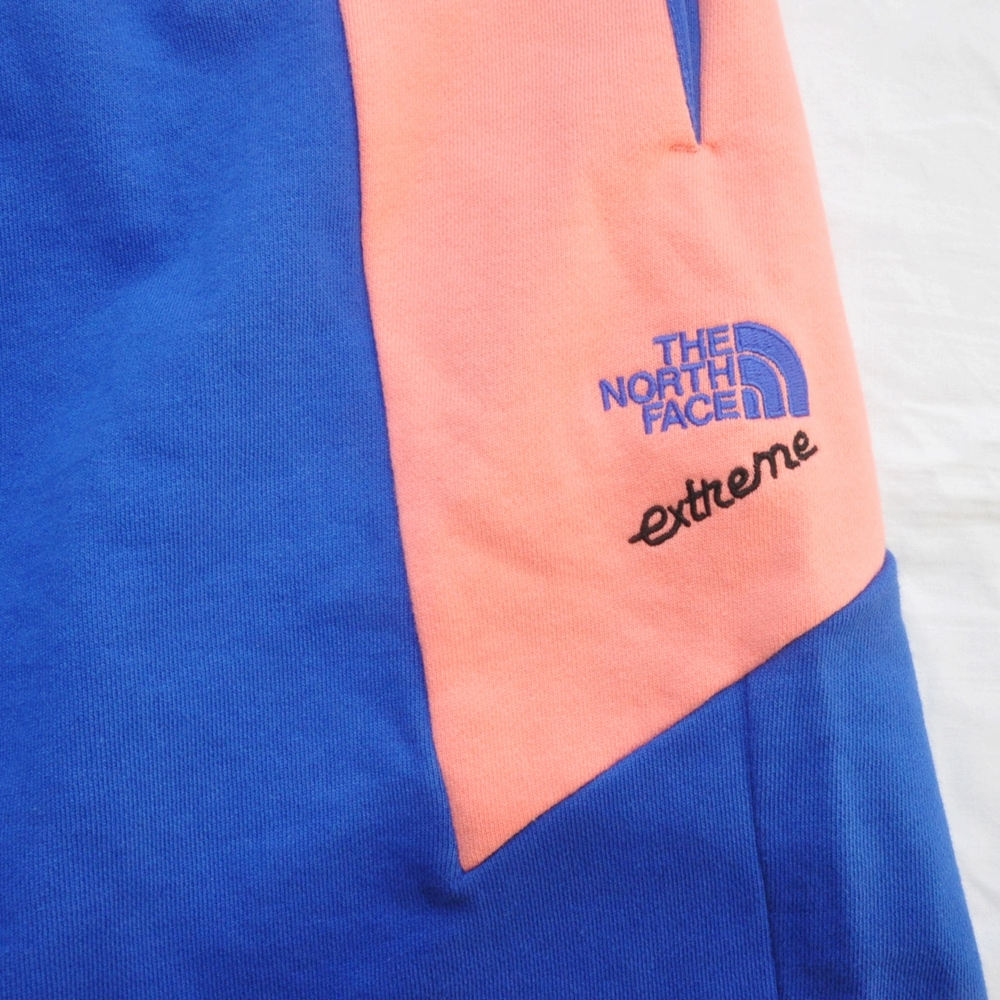 THE NORTH FACE/ザノースフェイス EXTREME BLOCK SHORTS PINK/BLUE BIG SIZE-4