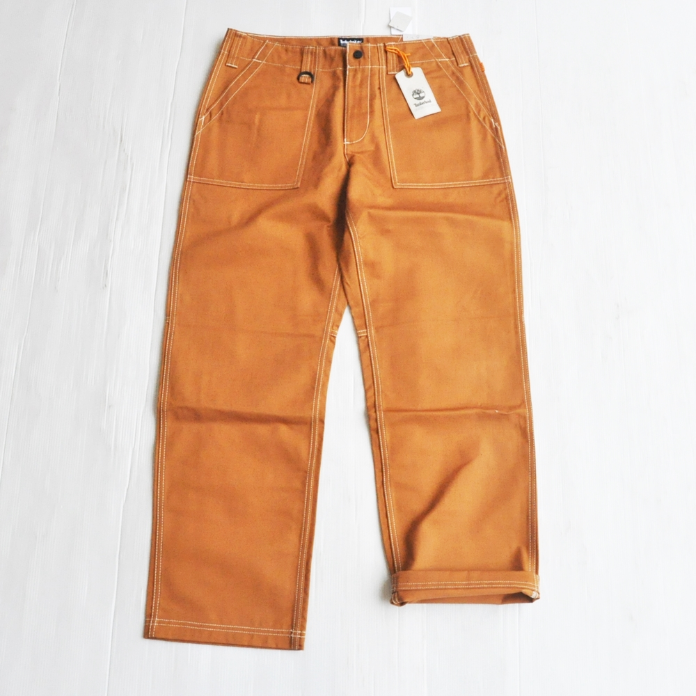 TIMBERLAND/ティンバーランド RLEAXED FIT WORK PANTS OCRE