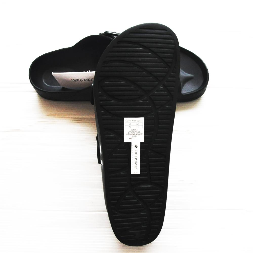 CALVIN KLEIN JEANS/カルバンクラインジーンズ COMFORT SANDALS BLACK-5