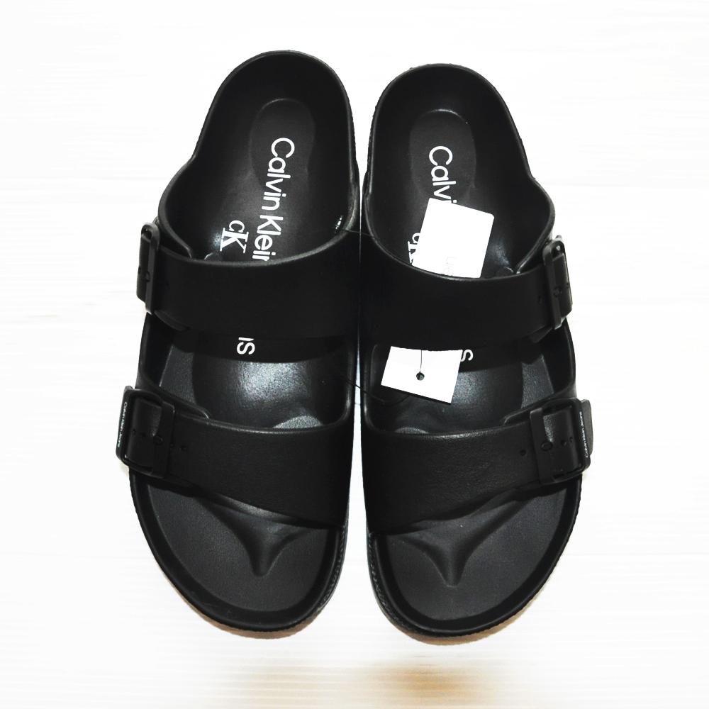 CALVIN KLEIN JEANS/カルバンクラインジーンズ COMFORT SANDALS BLACK