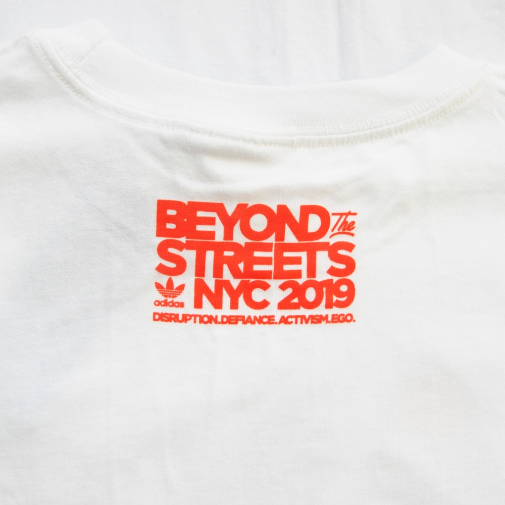 ADIDAS/アディダス adidas Originals BEYOND THE STREETS NYC HOT DOG T-SHIRT NYC LIMITED-5