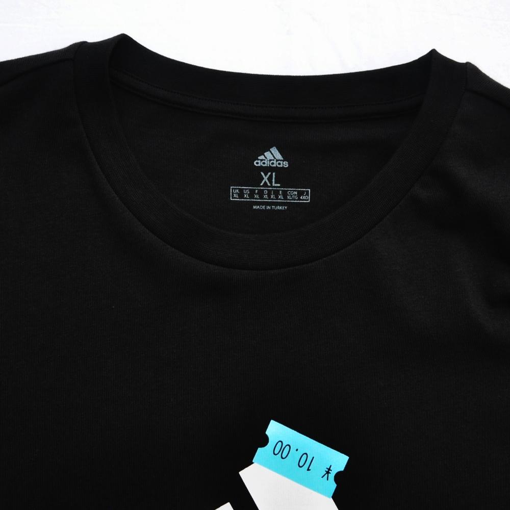 ADIDAS/アディダス EQUIPMENT LOGO PRICE TAG LONG SLEEVE T-SHIRT BLACK-6