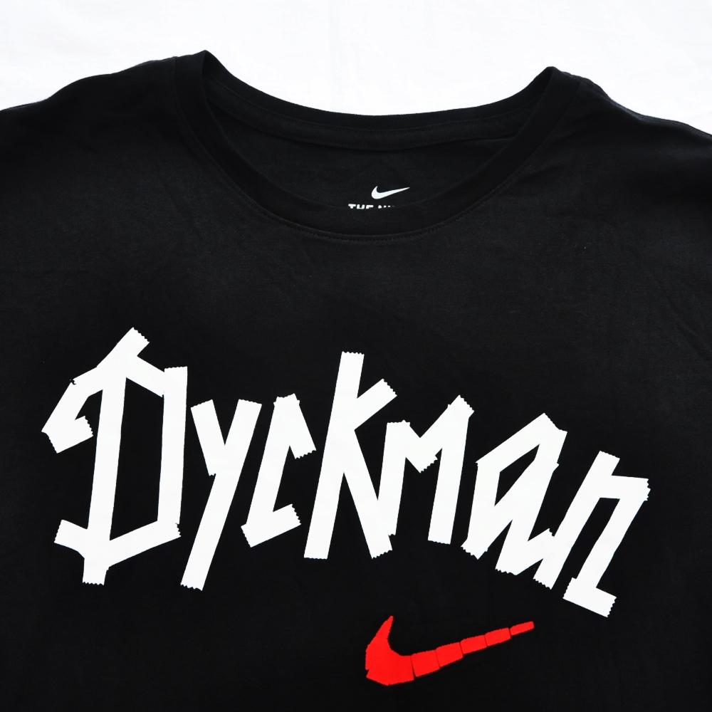 NIKE/ナイキ NY VS NY BASKET BALL DYCKMAN UP TOWN CROWN 30TH DRY FIT T-SHIRT BIG SIZE-5