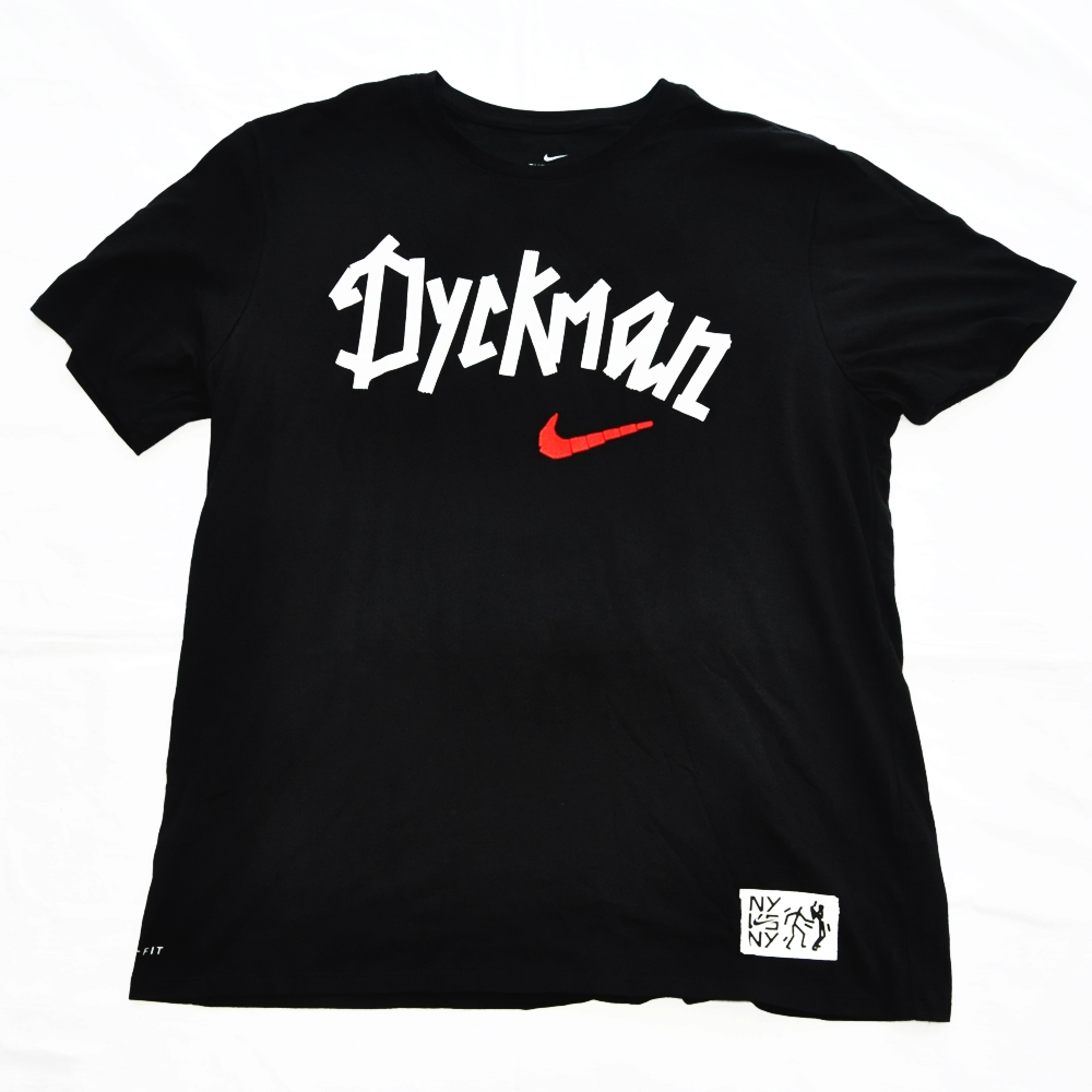 NIKE/ナイキ NY VS NY BASKET BALL DYCKMAN UP TOWN CROWN 30TH DRY FIT T-SHIRT  BIG SIZE