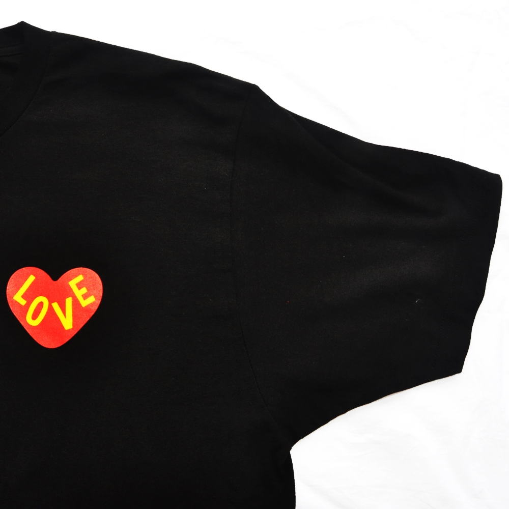 CROSS COLOURS/クロスカラーズ LOVE BLACK LIVERS T-SHIRT BLACK BIG SIZE-6