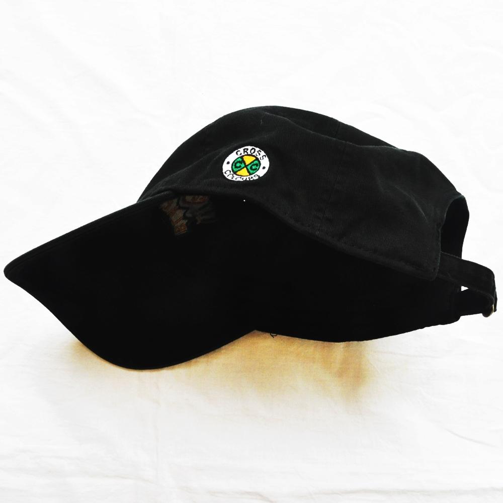 CROSS COLOURS/クロスカラーズ LOVE BLACK LIVERS 6 PANEL BASEBALL CAP BLACK-3