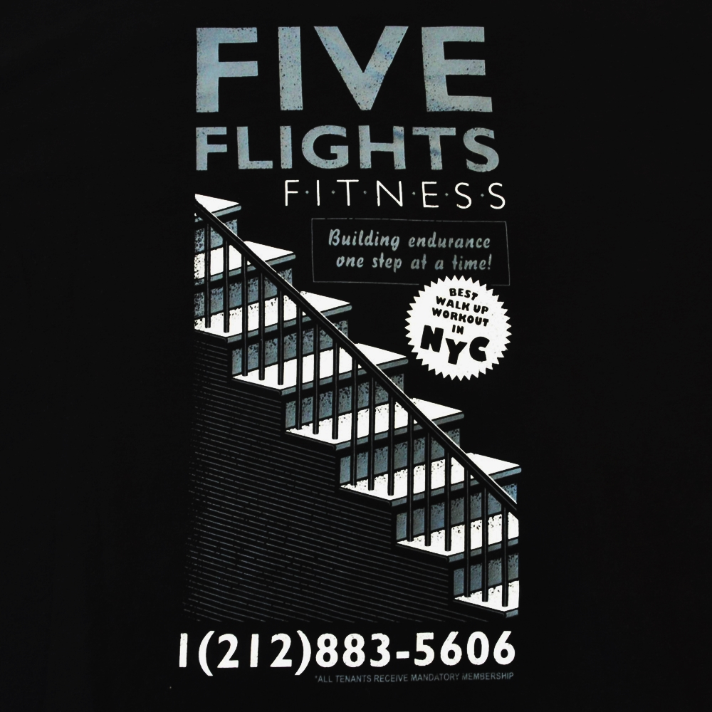 ADIDAS/アディダス FIVE FLIGHTS FITNESS NYC T-SHIRT BIG SIZE-3