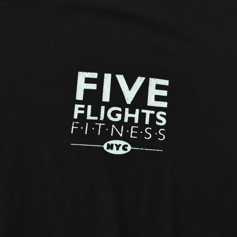 ADIDAS/アディダス FIVE FLIGHTS FITNESS NYC T-SHIRT BIG SIZE-4