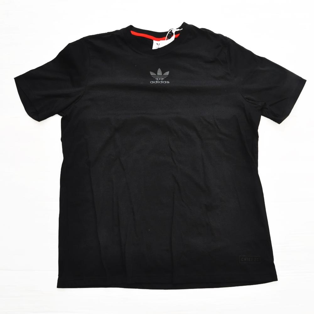 ADIDAS/アディダス adidas Originals CHILE 20 T-SHIRT BLACK BIG SIZE-2