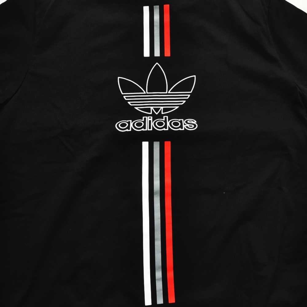 ADIDAS/アディダス adidas Originals CHILE 20 T-SHIRT BLACK BIG SIZE-3