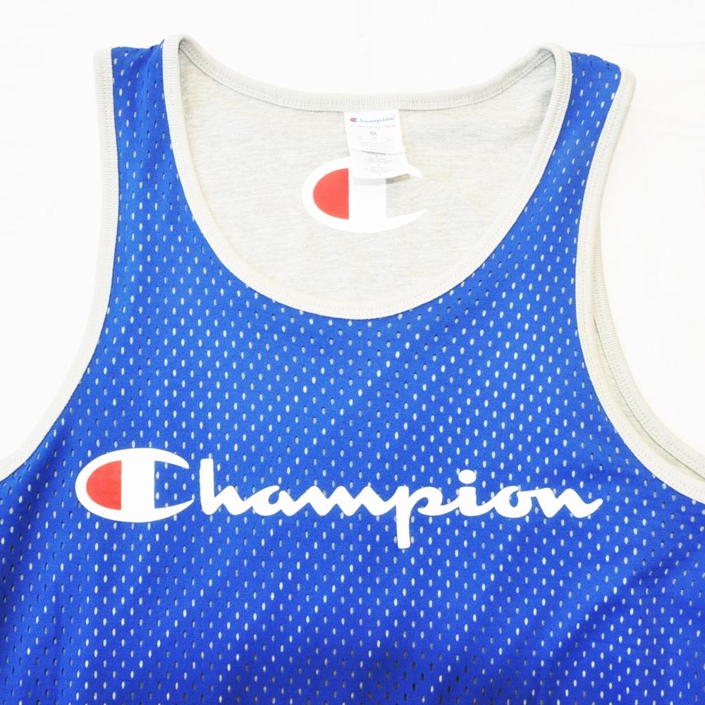 CHAMPION/チャンピオン AUTHENTIC MESH REVERSIBLE TANK TOP BLUE BIG SIZE-5