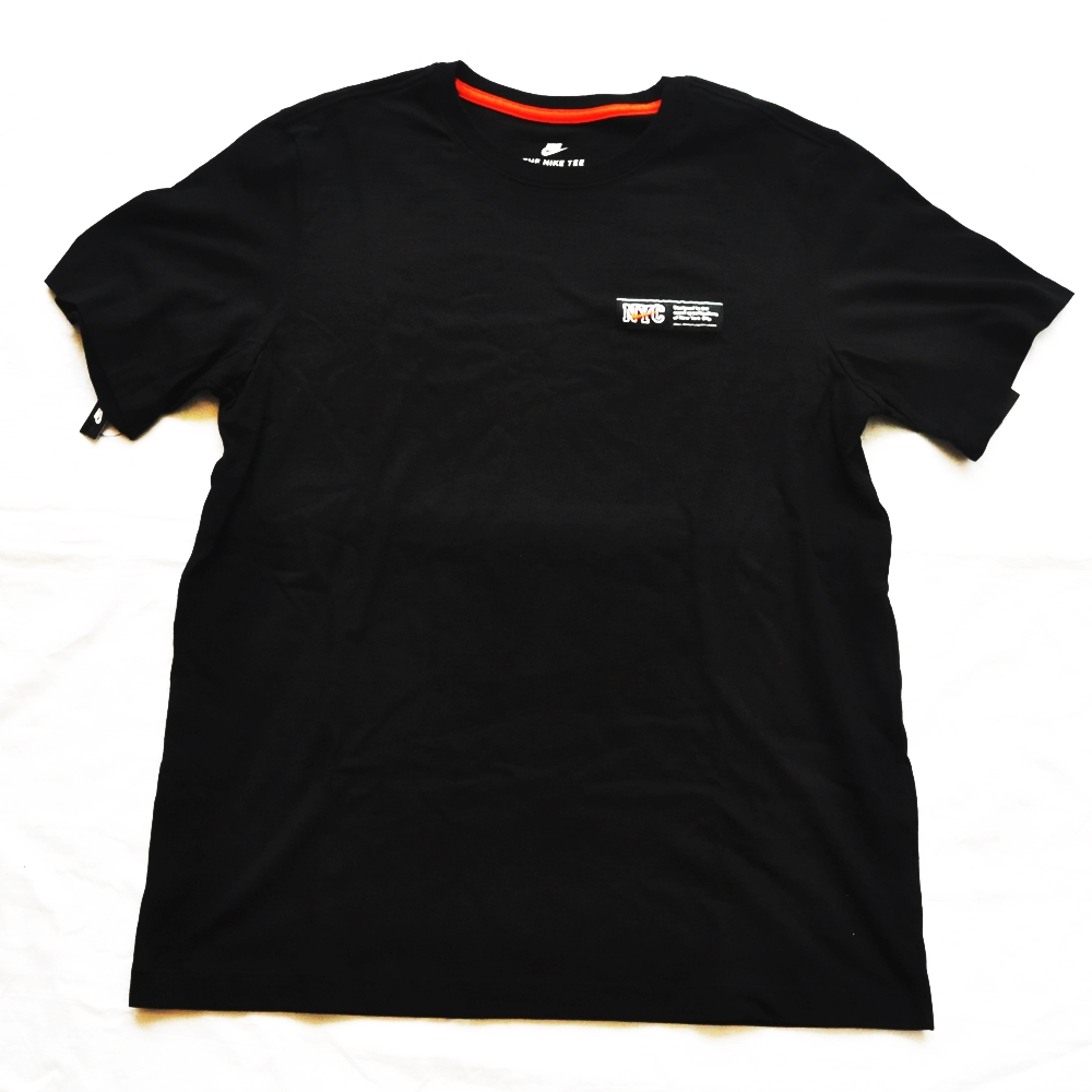NIKE/ナイキ 5 BOROUGH NYC TAG T-SHIRT BLACK NYC LIMITED