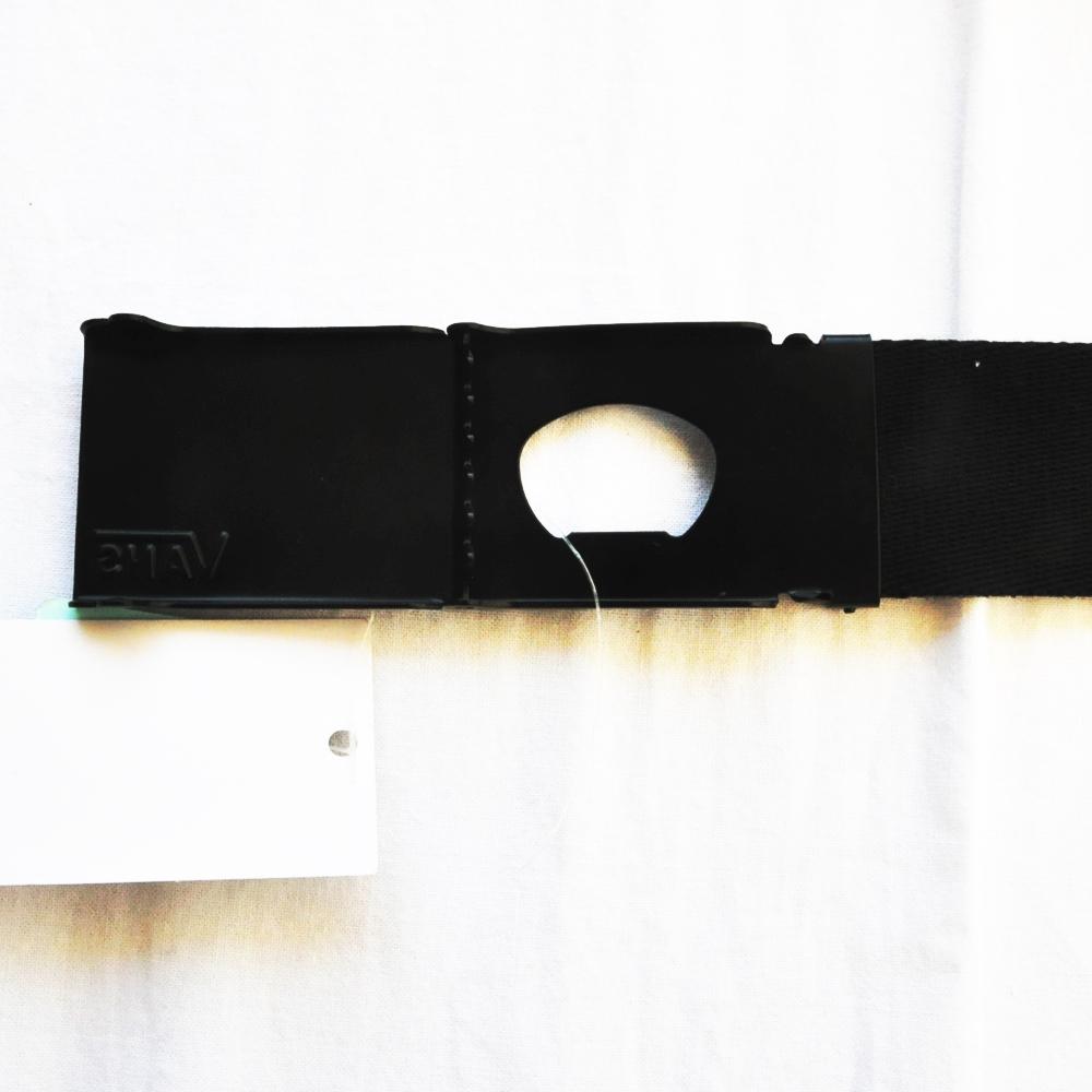 VANS/バンズ VANS LOGO DEPPSTER WEB BELT BLACK-3