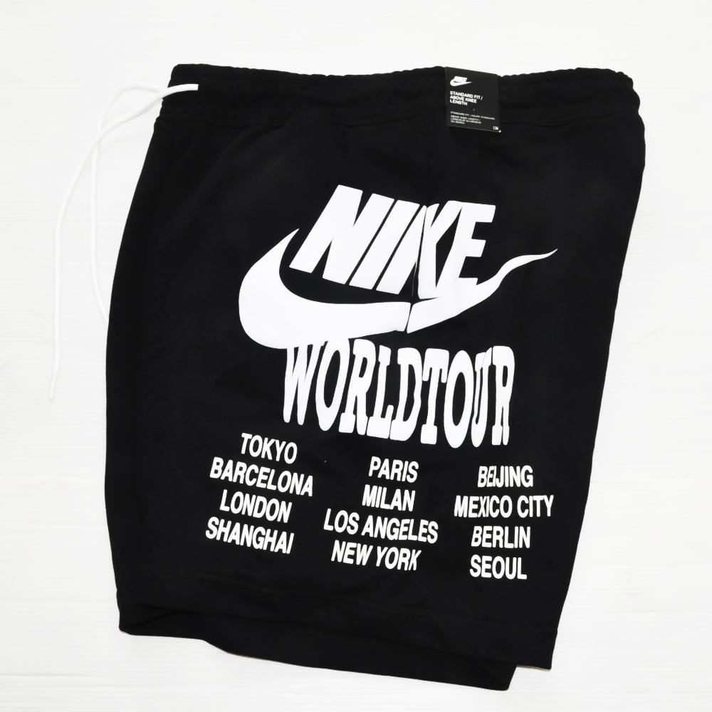 NIKE/ナイキ NIKE WORLD TOUR SWEAT SHORTS BLACK-3