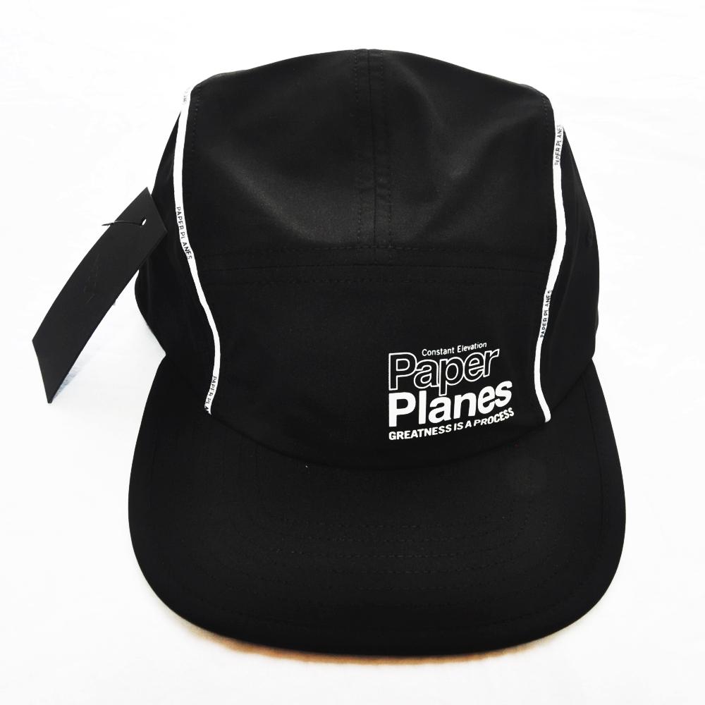 PAPER PLANES/ペーパー・プレーンズ PFC 5 PANEL JET CAP BLACK