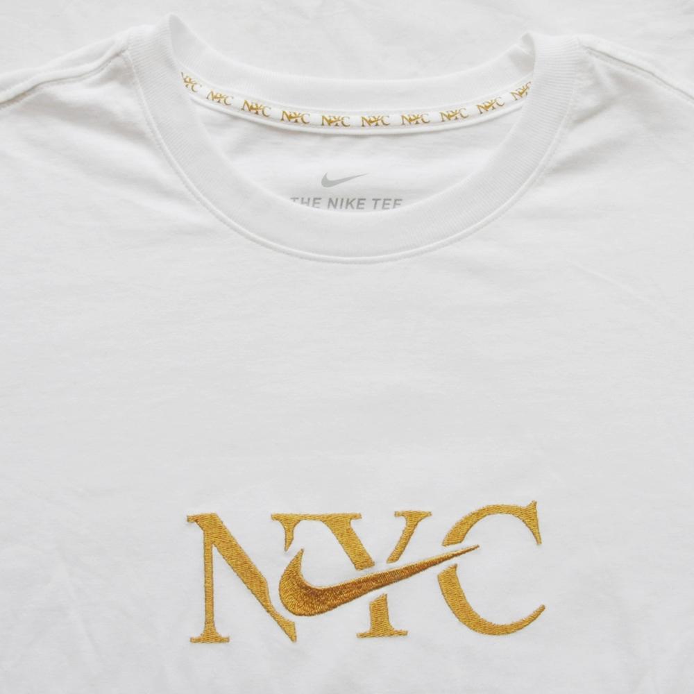 NIKE/ナイキ NIKE SPORTS WEAR 5 BOROUGH NYC LONG SLEEVE T-SHIRT WHITE NYC LIMITED BIG SIZE-4